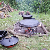 Homemade Weber Majskolber varmes