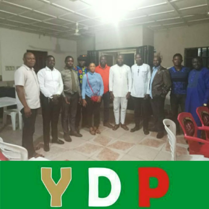2019: Gabu Bruce meets with YDP state excos in Calabar