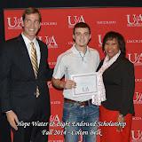 Scholarship Awards Ceremony Fall 2014 - Colton%2BBelk.jpg