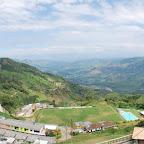 Panorámica de Belalcázar y el río Cauca