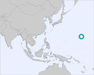 Wake Island location map
