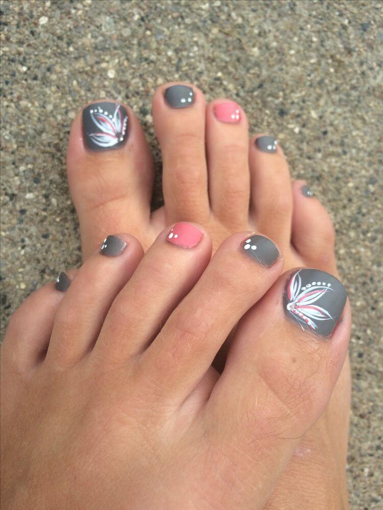 50+ Pretty Toe Nail Colors of Summer - Fashionre