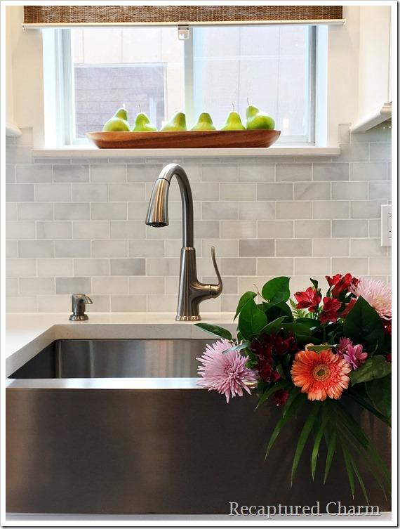 kitchen makeover sink 1
