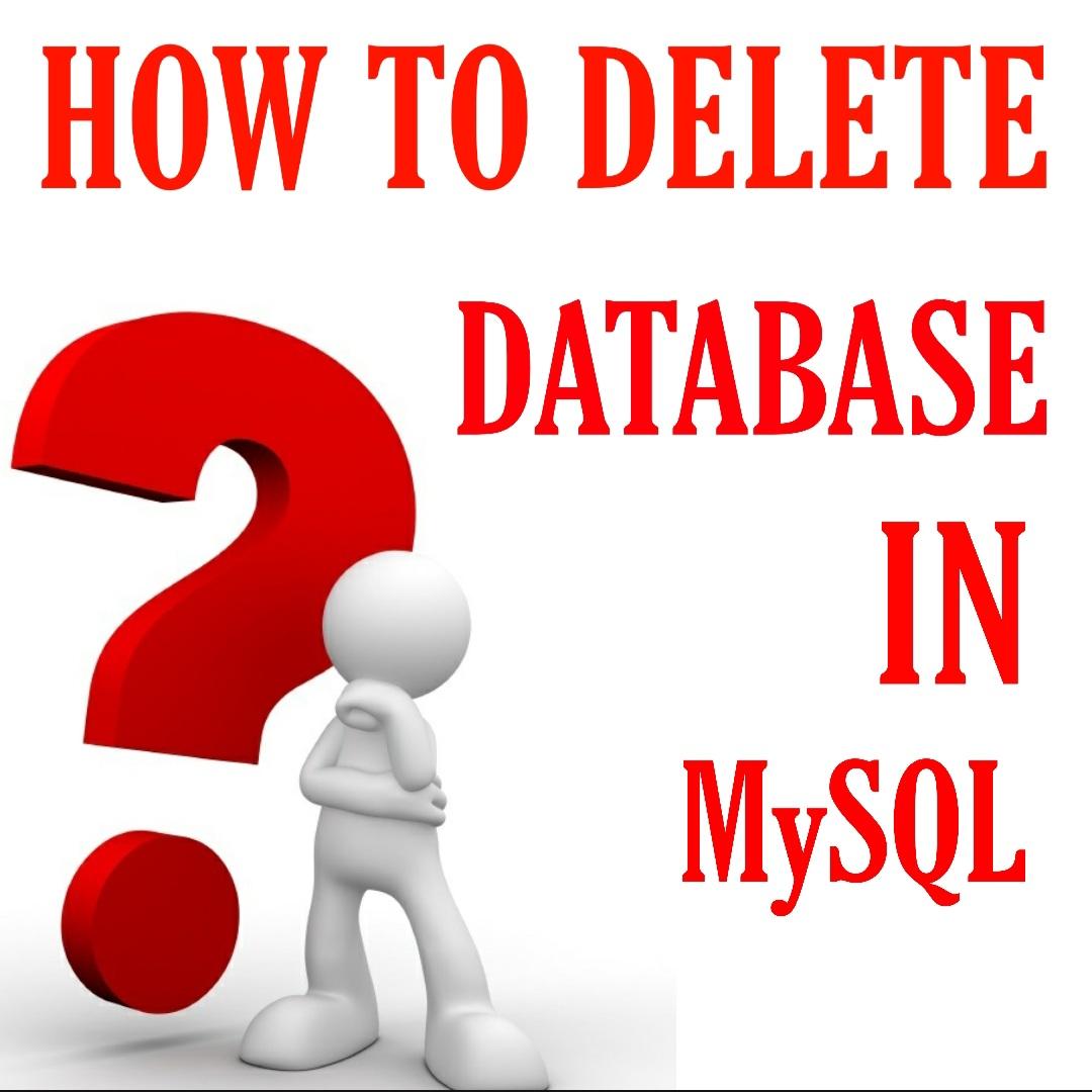 How-To-Delete-Database-In-MySQL