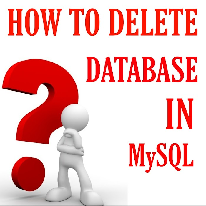 How To Delete Database In MySQL
