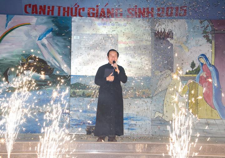 Hình ảnh đêm canh thức giáng sinh tại Giáo xứ Phú Phong