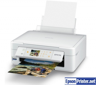 How to reset Epson XP-415 by application