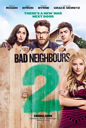 Ανυπόφοροι Γείτονες 2 (Bad Neighbors 2) Poster