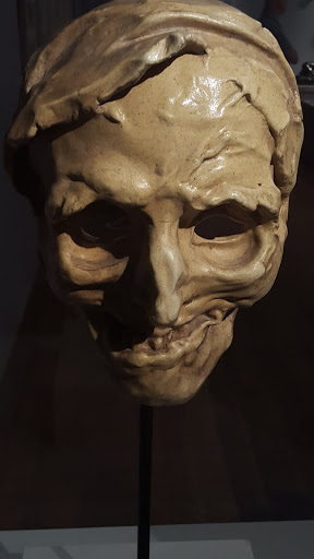 Jules Desbois, Parçay-les-Pins, France, 1851 – Paris 1935, Mask of Death, About 1890. Exploring the Rodin Exhibit at the Montreal Museum of Fine Arts