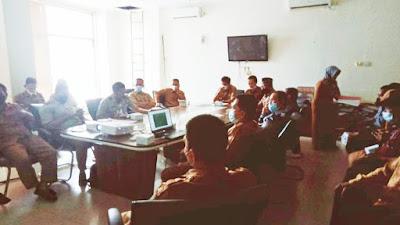 Kepala Desa Siabu Hadiri Rapat di Kantor Bupati Kampar, Bahas Mengenai  Batas Wilayah Untuk Pemekaran Desa