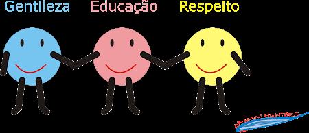 Gentileza, educação & respeito