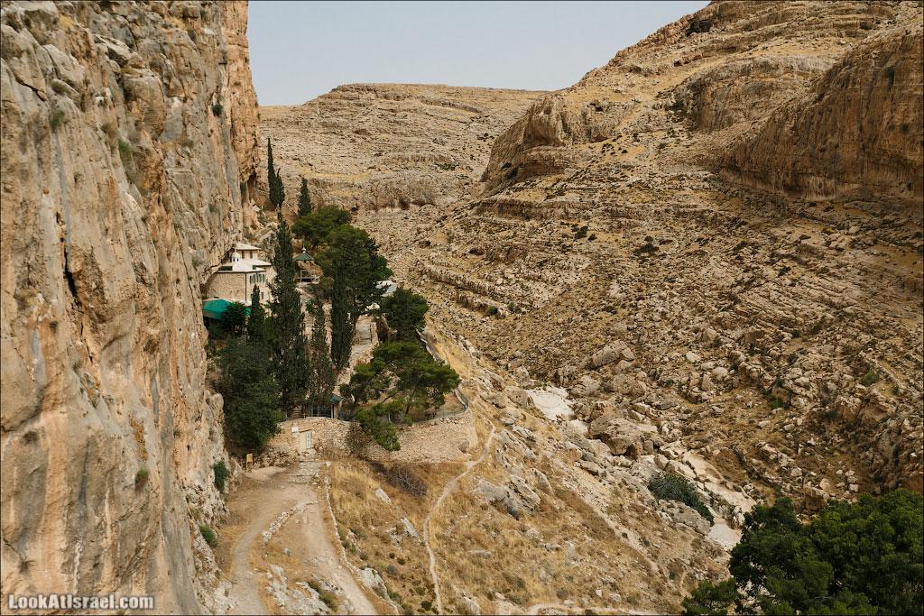 Фаранская лавра и верхний Вади Кельт   LookAtIsrael.com - Фотографии Израиля и не только...