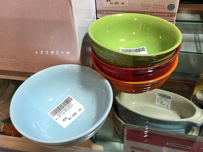 29 【東京Outlet購物趣】海濱幕張三井Outlet - LE CREUSET 鑄鐵鍋買到翻!提到手抽筋也甘願!