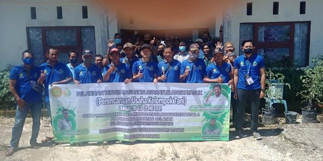 BBPP Binuang Gelar Pelatihan  Perencanaan Usaha Kelompok