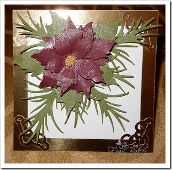 Deep Red Poinsettia Card-Betty-Stella-Dr Rao_FB2018