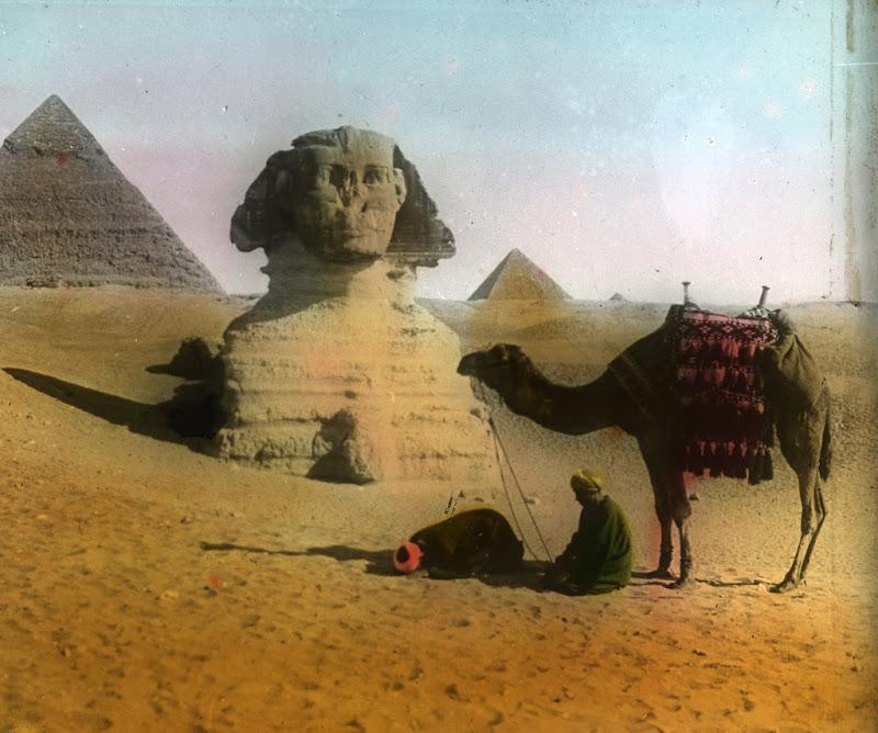 Gizaegypt Magic Lantern, Egyptian Magic