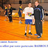 Seniors masculins 1 contre Auxerre (17-11-12)
