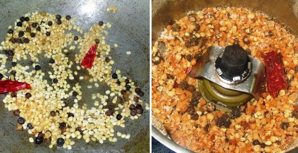 Curry Leaves Powder Recipe | South Indian Karuveppilai Podi - Curry Leaf Chutney Powder step by step recipe written by Kavitha Ramaswamy of Foodomania.com