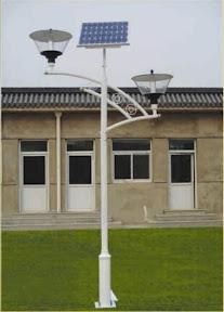 Farolas Ecológicas Con Energía Solar y Eólica