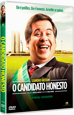 Filme Poster O Candidato Honesto DVDRip XviD & RMVB Nacional