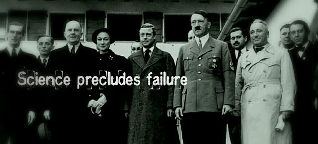 Hitler, Nazis, science precludes failure