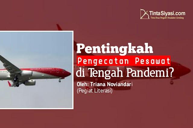 Pentingkah Pengecatan Pesawat di Tengah Pandemi?