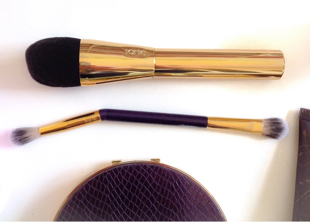 Tarte Founbdation Brush And Double-Ended Eyeshadow Brush