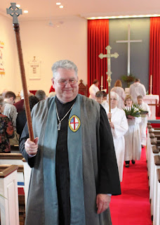 Bill Stowell, the VGEC 1,000th Active Member at St. George's Church in Middlebury, CT