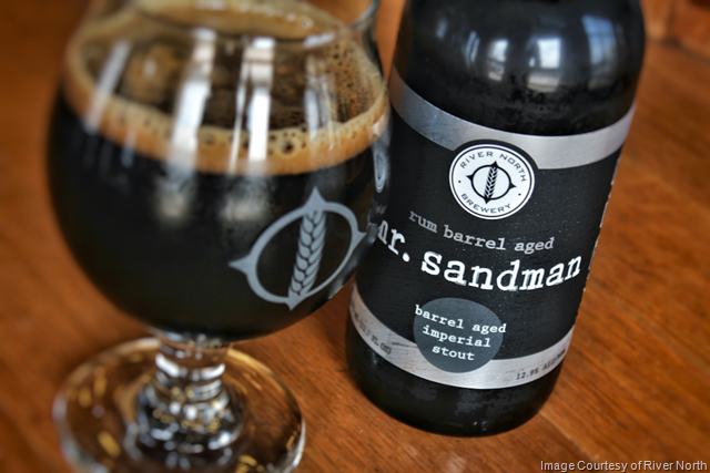 River North Brewery to Release Rum Barrel Mr. Sandman 8/11