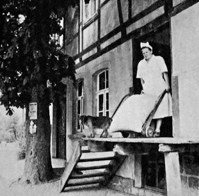 Müllermeisterin Hilde Begemann in Schieder-Schwalenberg