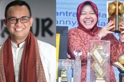 Gebrakan Risma di Jakarta Sepertinya Membuat Anies Merasa Tersinggung