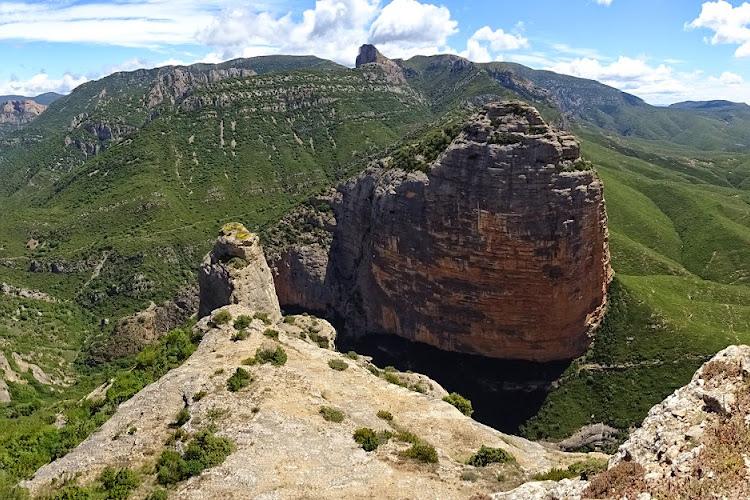 L'Espagne à pied - Le Salto de Roldán et la Peña de San Miguel