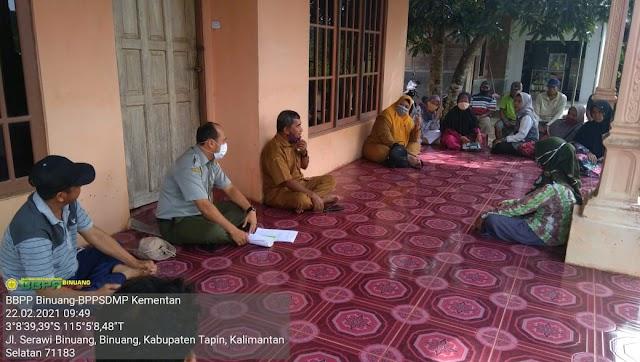 Widyaiswara Hadir Bina Poktan sekitar Kampus BBPP Binuang