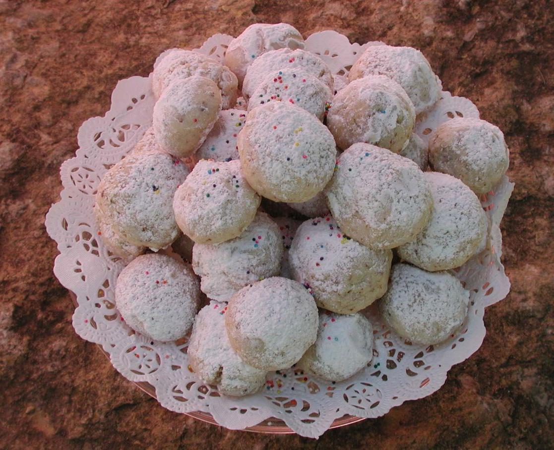 Eliz S Blog White Italian Wedding Cookies