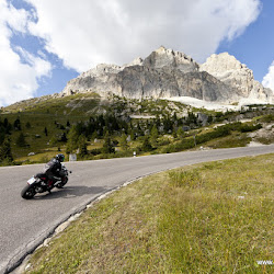 Motorradtour Dolomiten Passo Falzarego 08.09.16