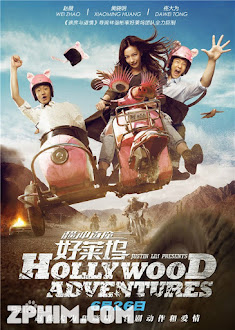 Khuấy Đảo Hollywood - Hollywood Adventures (2015) Poster