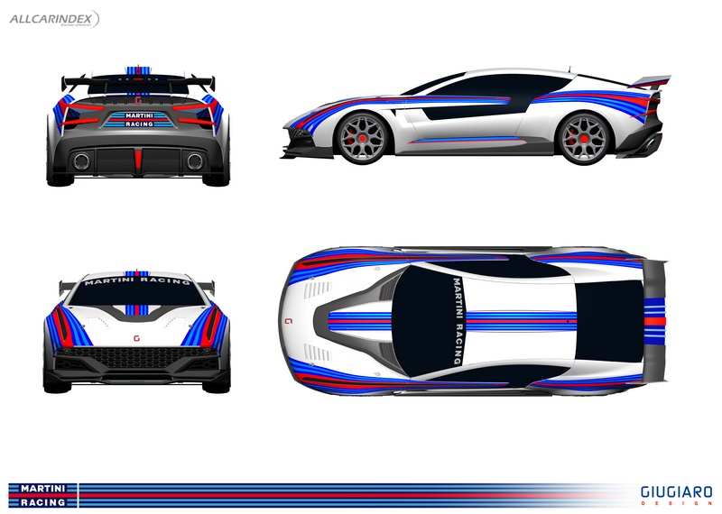 ItalDesign - Giugiaro - Brivido Martini Racing