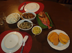 This is the dinner Victoria prepared for us- DELICIOUS feast! Right at our place. very nice and very affordable (PHP 350 = $8.50)