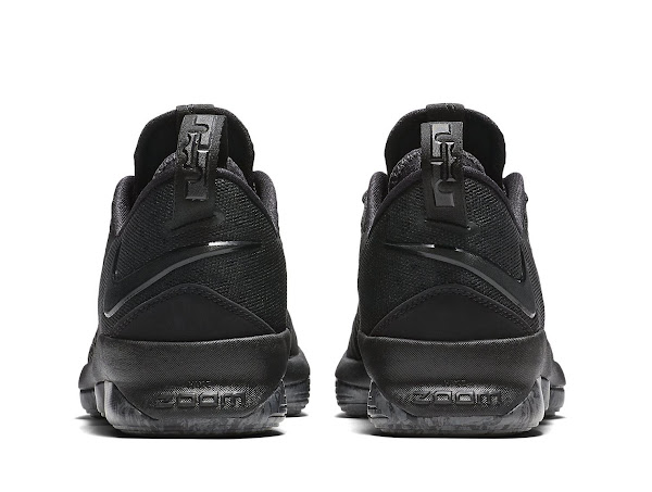 Nike Launches LeBron XIV Low Triple Black Next Week