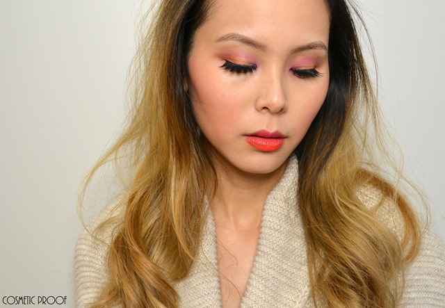 Shu Uemura Haute Street Warm x Vibrant Eye Shadow Palette Review Swatches