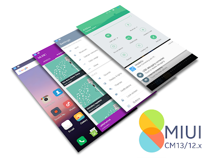 CM13/12.x MIUI V8 Theme Screenshot