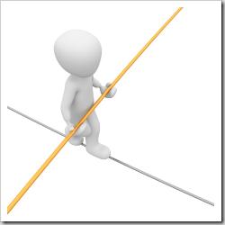 Skills tighrope
