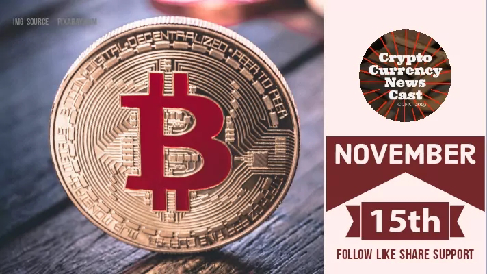 Crypto News Cast For November 15th 2020 ?