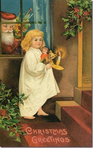 Christmas Greetings 1908