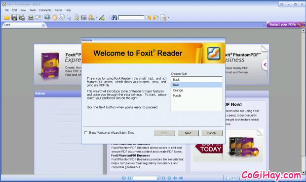 Giới thiệu và tải phần mềm đọc file PDF Foxit Reader