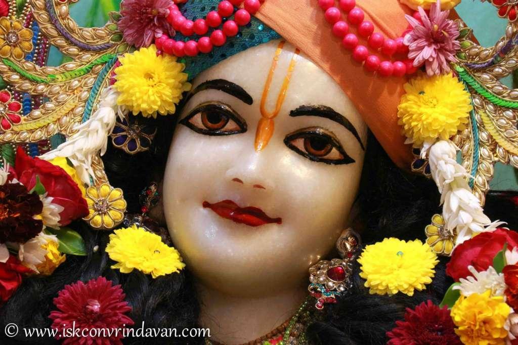 ISKCON Vrindavan Sringar Deity Darshan 18 Dec 2015 (6)