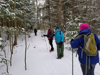 Hike at Watershed Center 01/19/2018