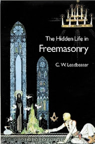 Cover of Charles Webster Leadbeater's Book The Hidden Life In Freemasonry