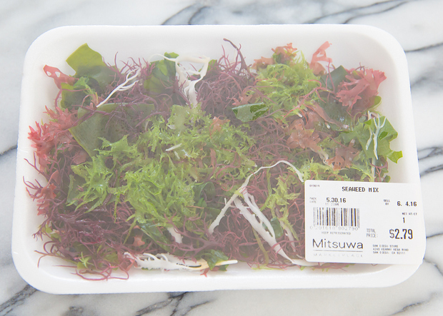 photo of a package of seaweed mix