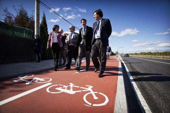 La antigua M-111 en Algete se transforma en una avenida con carril bici